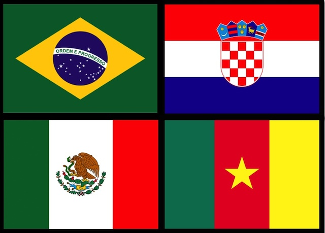 As Bandas da Copa do Mundo_Grupo A
