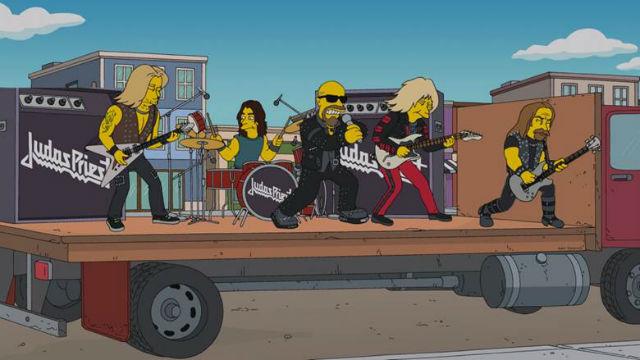 Judas Priest faz participação em episódio de Os Simpsons