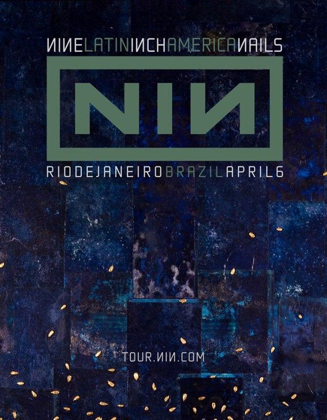 Nine Inch nails anuncia show solo no Rio de Janeiro