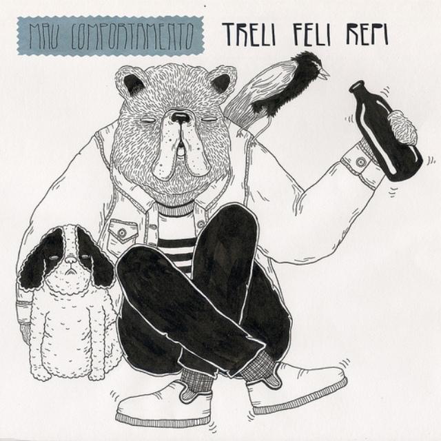 Ouça novo EP do projeto Treli Feli Repi de Lê Almeida