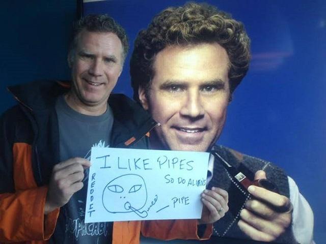 Will Ferrell diz que é Chad Smith