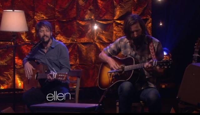 Band of Horses faz apresentação acústica em programa de TV