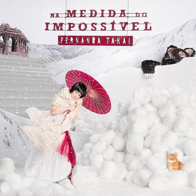 Fernanda Takai divulga capa de seu novo álbum