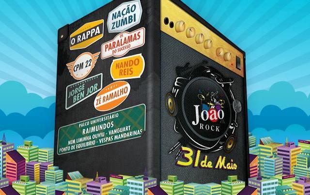 Festival João Rock anuncia as atrações da edição de 2014