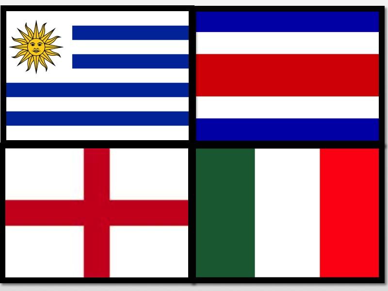As Bandas da Copa do Mundo - Grupo D