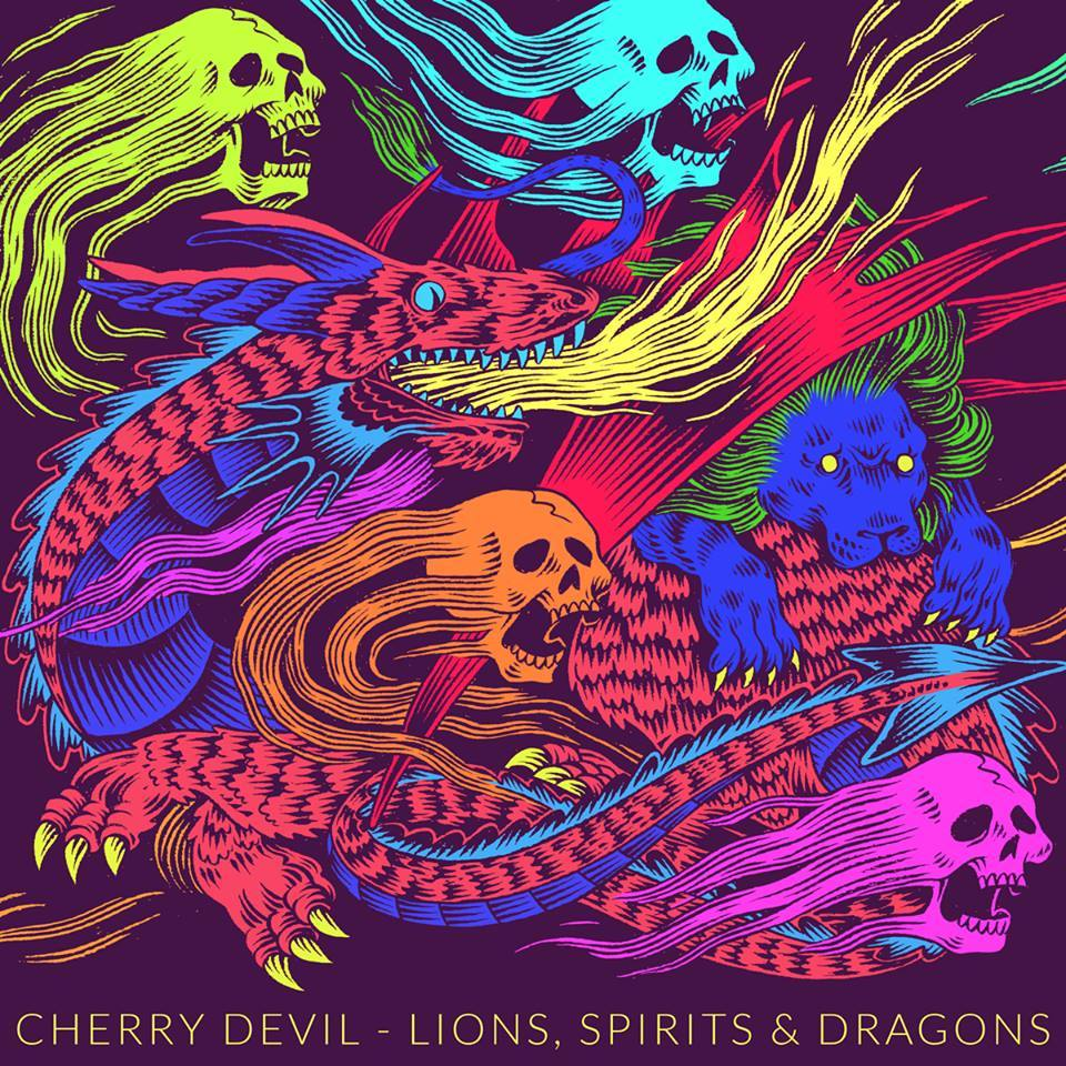 "ESTREIA EXCLUSIVA: Cherry Devil - ""Lions, Spirits & Dragons"" EP"