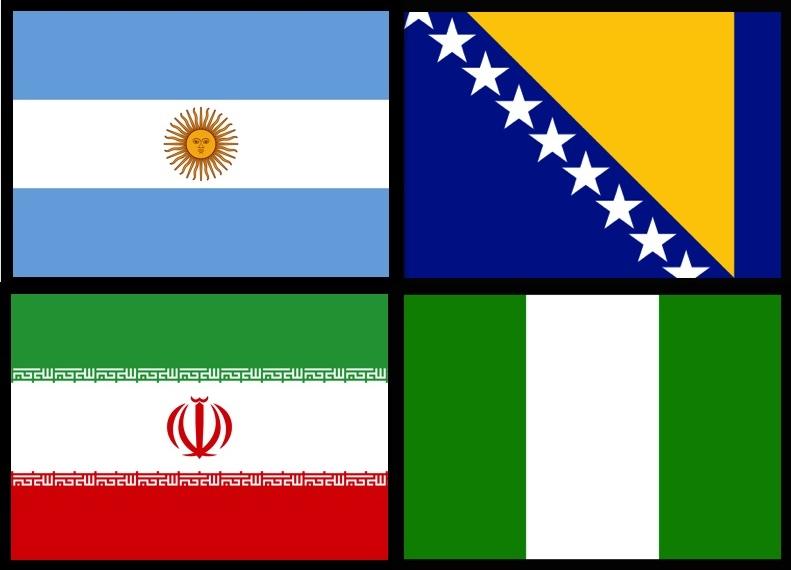 As Bandas da Copa do Mundo - Grupo F