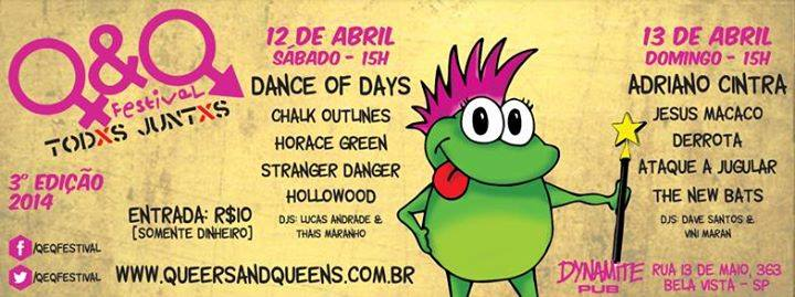 Queers and Queens Festival 2014 | Contra a homofobia 01