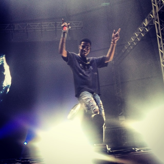 Kid Cudi esbanja simpatia em show no Lollapalooza Brasil