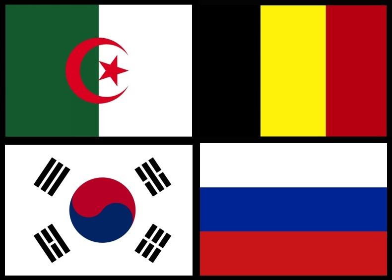 As Bandas da Copa do Mundo - Grupo H