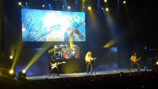 Assista a performance completa do Megadeth na Argentina