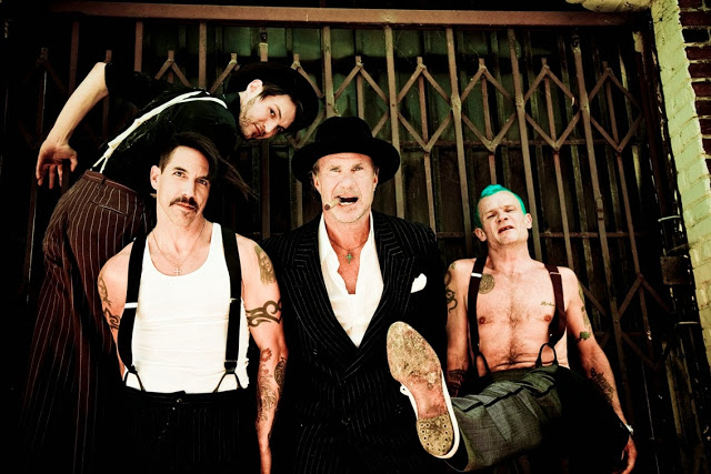 Red Hot Chili Peppers está trabalhando em novo disco