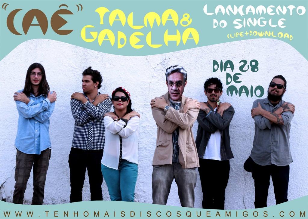 """Exclusivo: Talma&Gadelha - """"Caê"""" (single e vídeo) + entrevista"""