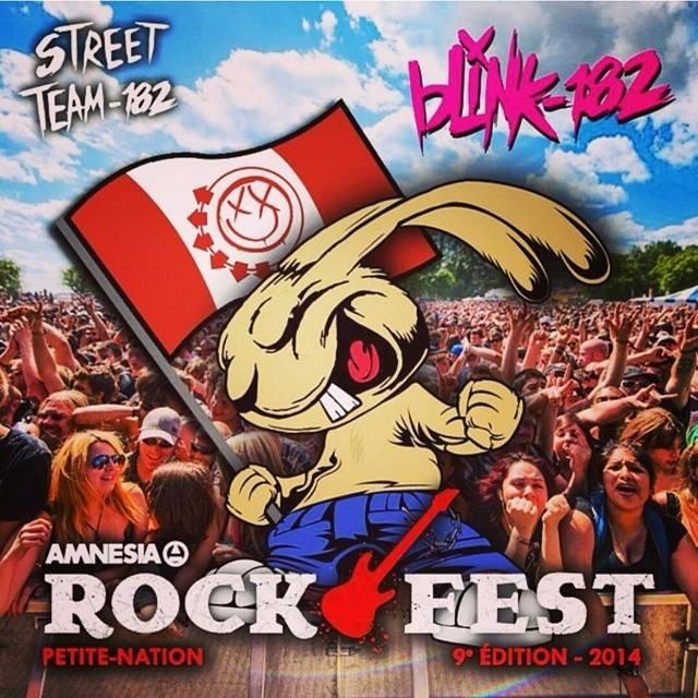 blink-182 faz cover de Misfits em festival no Canadá