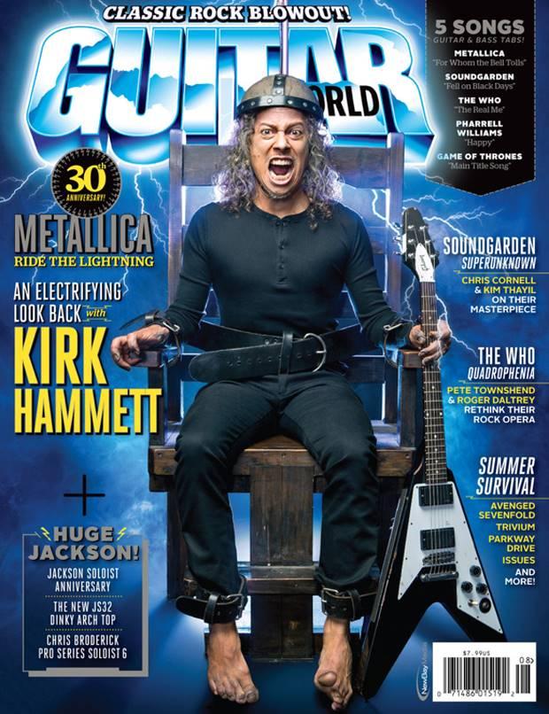 Kirk Hammett fala sobre Cliff Burton