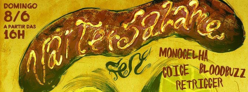 Monocelha lança álbum em São Paulo nesse domingo