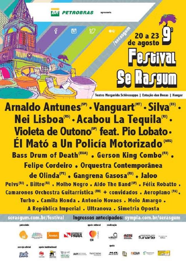Festival Se Rasgum anuncia atrações da edição 2014