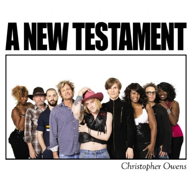 Capa de A New Testament, novo disco de Christopher Owens