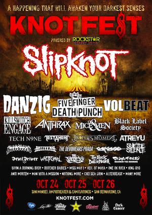 Knotfest tem lineup revelado