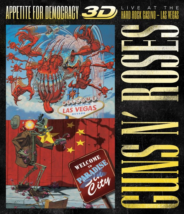 Guns N' Roses: Veja trecho e tracklist do novo DVD/Blu-ray