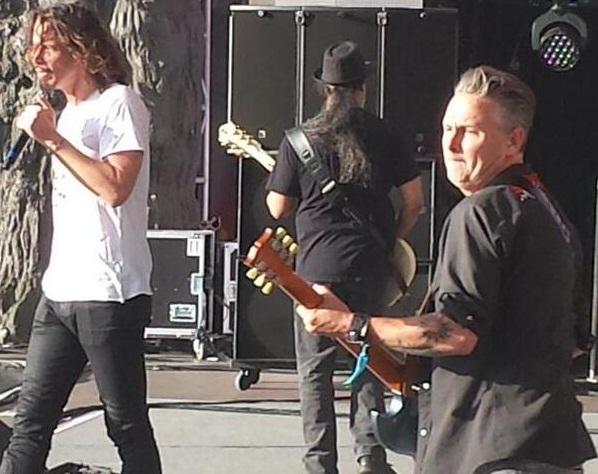 Soundgarden: Banda toca com Mike McCready no Hyde Park