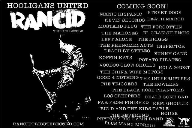 Álbum tributo ao Rancid ganha mais bandas participantes