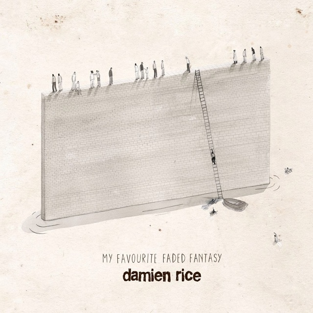 Capa de My Favourite Faded Fantasy, novo disco de Damien Rice