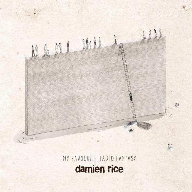 Capa de My Favourite Faded Fantasy, novo disco de Damien Rice