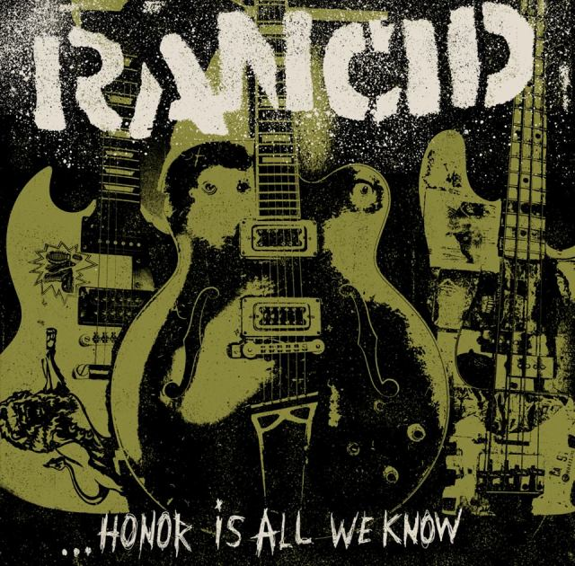 Rancid revela capa e lista de faixas de novo álbum