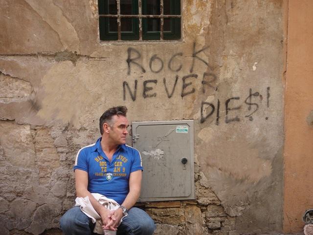 Morrissey revela luta contra um câncer