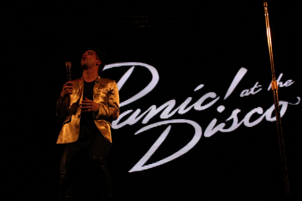 Brendon Urie, do Panic! At The Disco, no Circuito Banco do Brasil em Belo Horizonte