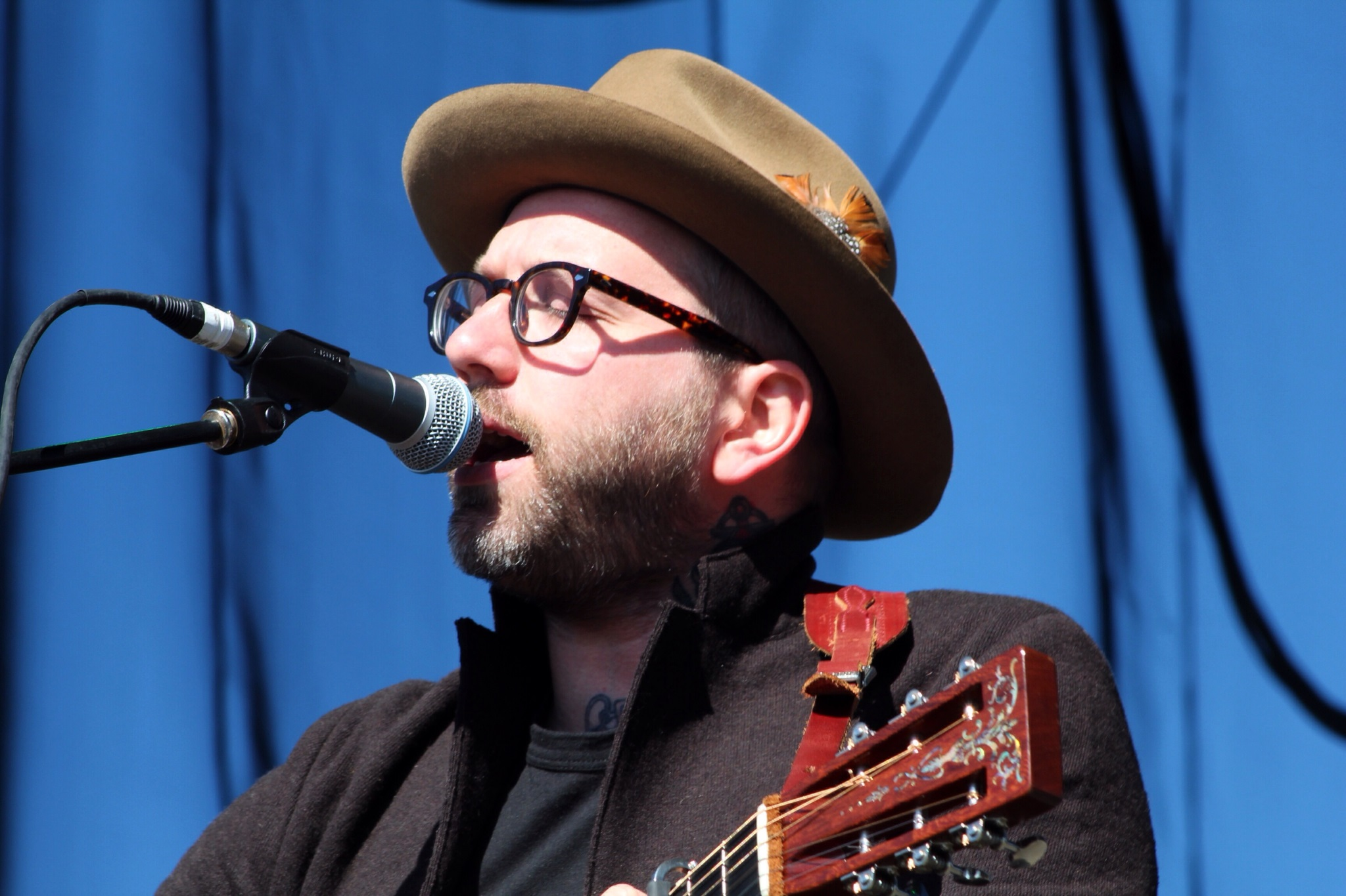 City And Colour no Riot Fest 2014