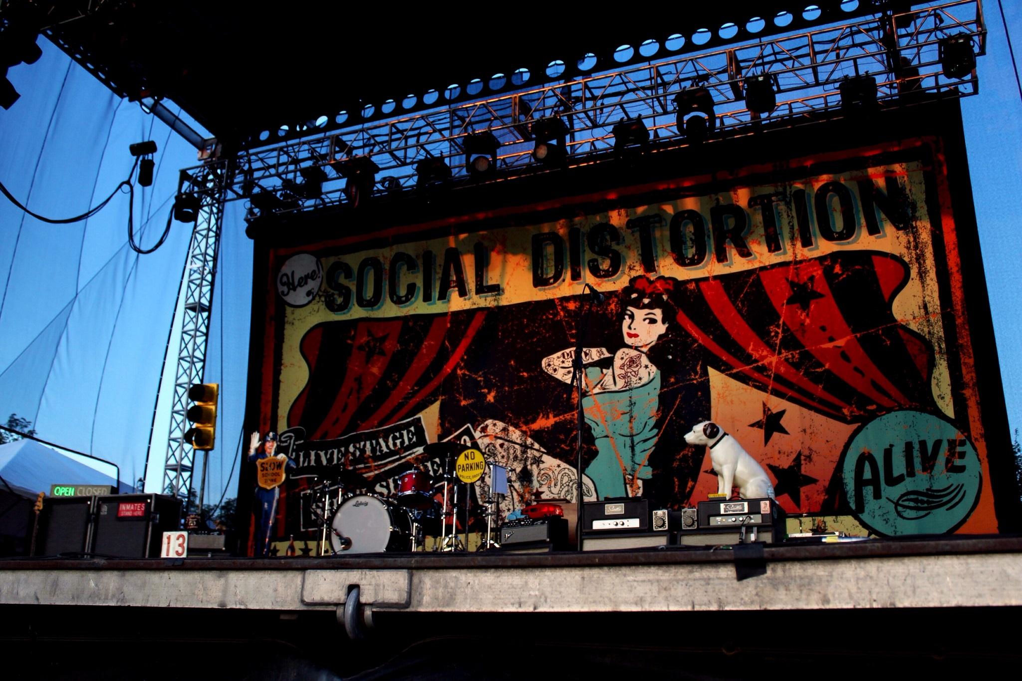 Social Distortion no Riot Fest 2014