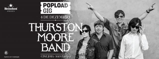 Thurston Moore (ex-Sonic Youth): concorra a um par de ingressos para o show em São Paulo