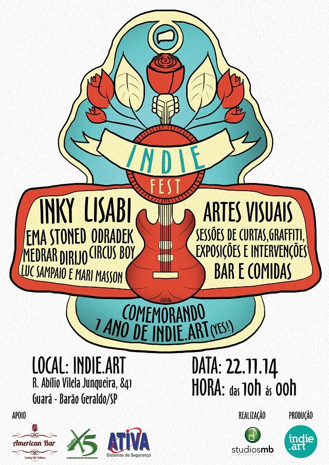 cartaz indie fest
