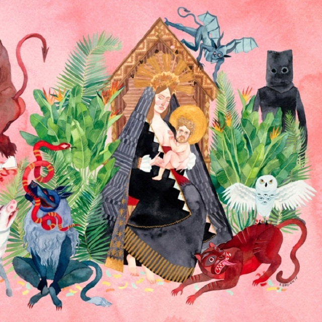 Capa de I Love You, Honeybear, novo disco do Father John Misty