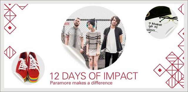 Paramore participa de campanha beneficente no eBay