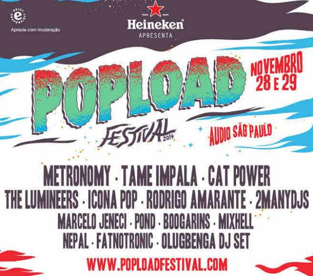 Popload Festival: concorra a pares de ingressos