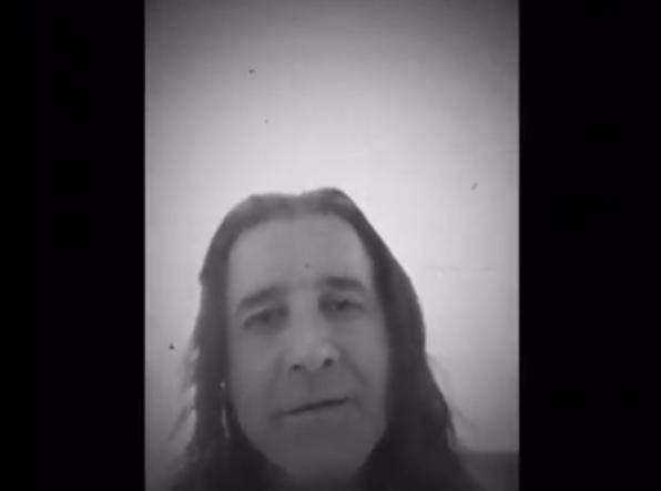 Vídeo de Scott Stapp, do Creed
