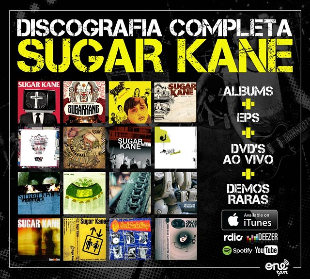 Sugar Kane disponibiliza discografia completa em formato digital