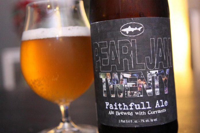 Cerveja do Pearl Jam