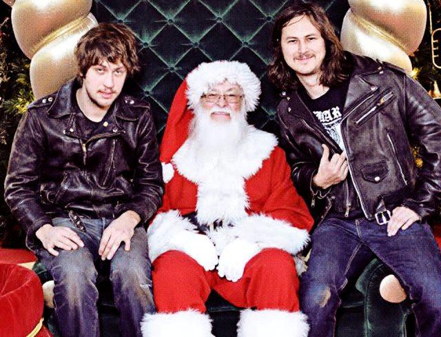 JEFF The Brotherhood dá presente de Natal aos fãs