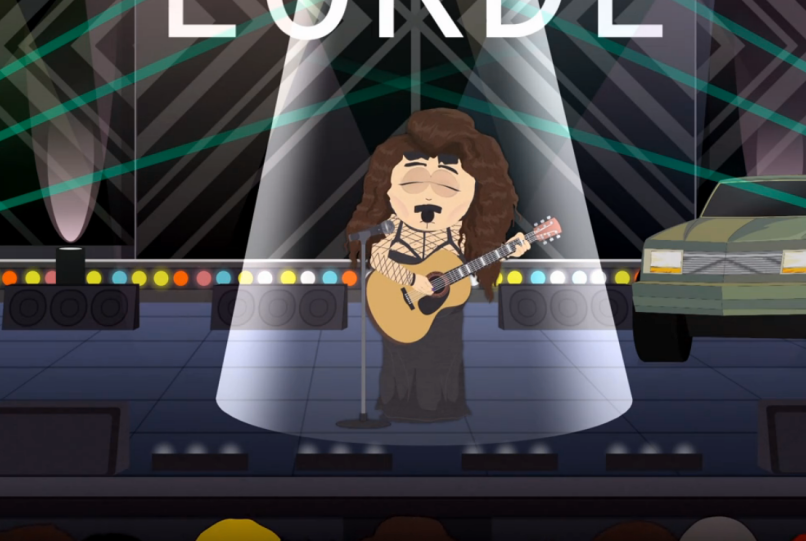 Lorde em South Park
