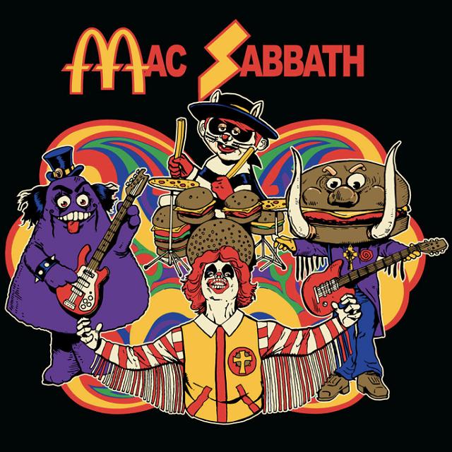 Banda cômica mistura Black Sabbath com McDonald's