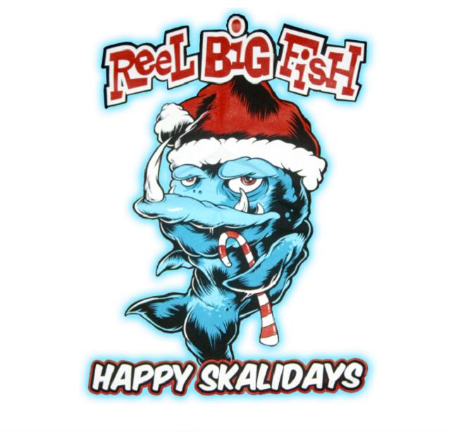 Reel Big Fish: Ouça o novo EP natalino da banda