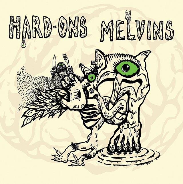 Melvins fazem cover de Iggy Pop em split