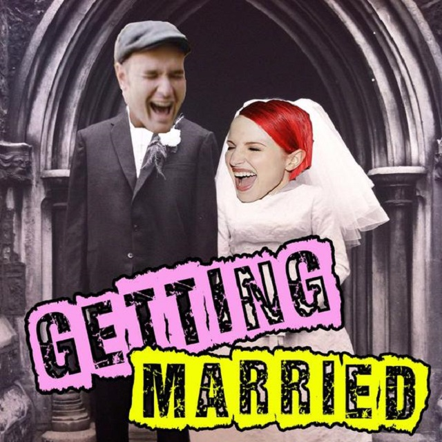Hayley Williams e Chad Gilbert noivaram