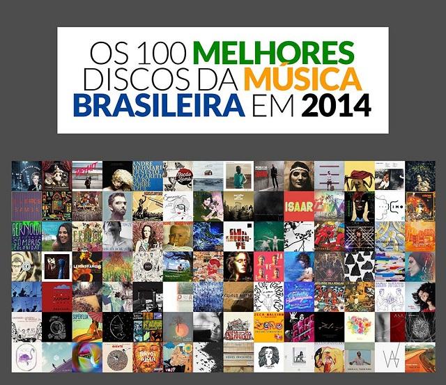 Site elege os 100 melhores discos de música brasileira de 2014