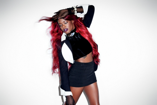 Azealia banks posa para a revista Playboy