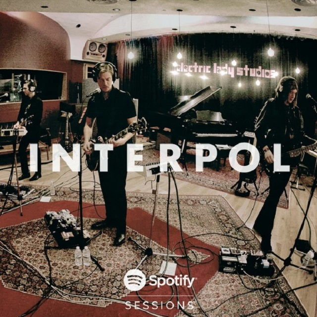 Interpol lança o EP Spotify Sessions